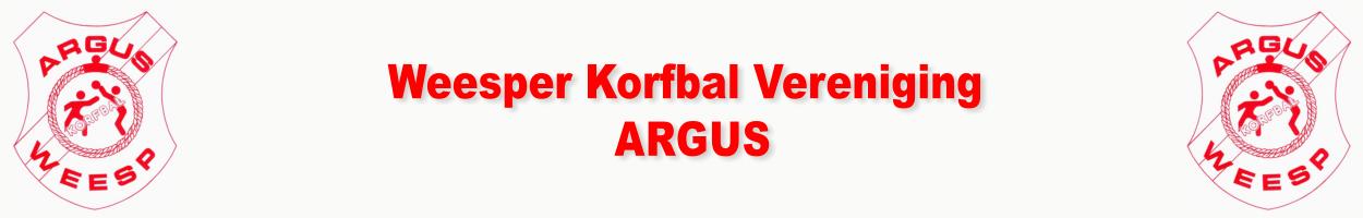"""Weesper Korfbal Vereniging """"ARGUS"""""""
